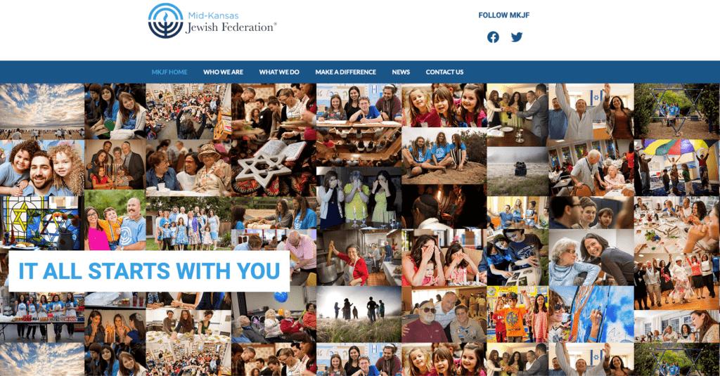 Reb Dev & Design | Website Graphic | Mid-Kansas Jewish Federation