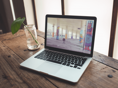 Reb Dev & Design | WordPress Development & Design | Laptop Image